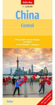 CHINA CENTRAL 1:1.500.000 -NELLES