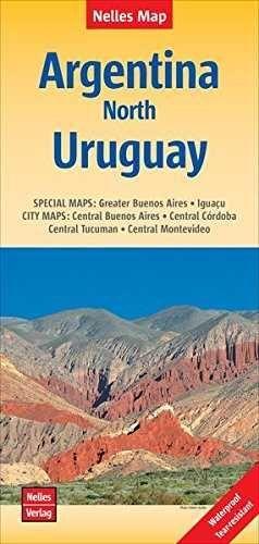 ARGENTINA NORTH URUGUAY 1:2.500.000 -NELLES