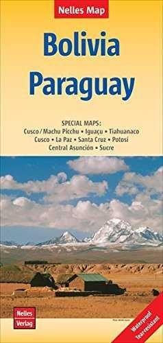 BOLIVIA PARAGUAY 1.2.500.000 -NELLES