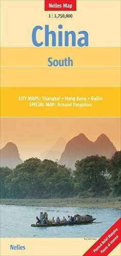 CHINA SOUTH  *NELLES MAP 2014*   1 : 1 750 000