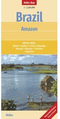 BRAZIL AMAZON 1:2.500.000 -NELLES