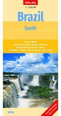 BRAZIL CENTRAL & SOUTH 1.2.500.000 -NELLES