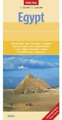 EGYPT 1:750.000 / 1:2.500.000 -NELLES MAP