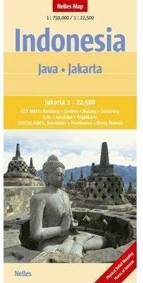 INDONESIA JAVA 1:750.000 - JAKARTA 1:22.500 -NELLES