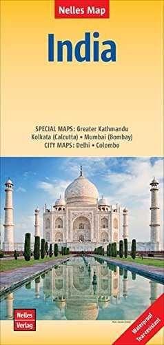 INDIA 1:4.500.000 -NELLES