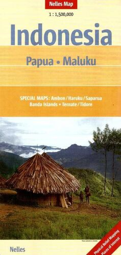 INDONESIA-PAPUA MALUKU 1:1.500.000 -NELLES