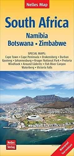 SOUTH AFRICA 1:2.500.000 NAMIBIA BOTSWANA ZIMBABWE -NELLES