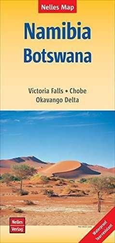 NAMIBIA BOTSWANA 1:1.500.000 -NELLES