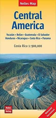 CENTRAL AMERICA 1:1.750.000 COSTA RICA 1:900.000 -NELLES