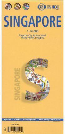 SINGAPORE  *MAPA BORCH 2010*  1 : 14 000