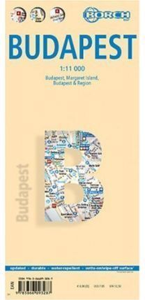BUDAPEST BORCH MAP