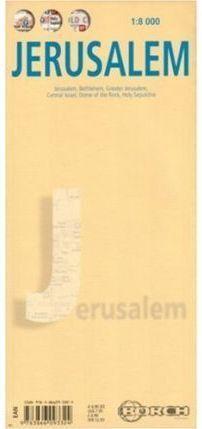JERUSALEM 1:8 000 MAP