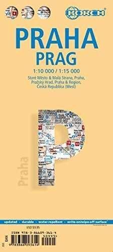PRAGUE BORCH MAP