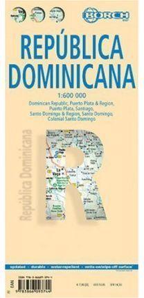 MAPA REPÚBLICA DOMINICANA  1:600000