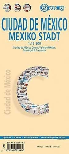 CIUDAD DE MEXICO. MEXIKO STADT. BORCH. 1:12 500