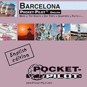 BARCELONA MAPA POCKET-PILOT INGLES