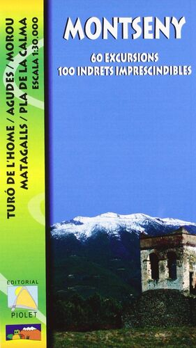 MONTSENY. 60 EXCURSIONS. 100 INDRETS IMPRESCINDIBLES