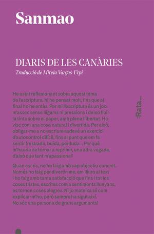 DIARIS DE LES CANÀRIES