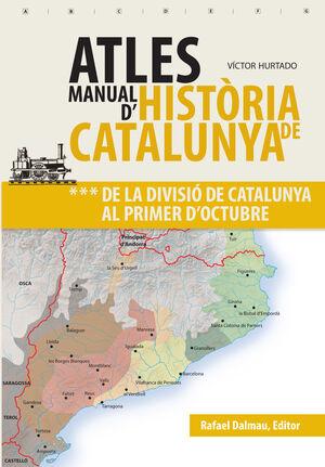 ATLES MANUAL D'HISTÒRIA DE CATALUNYA, VOL 3