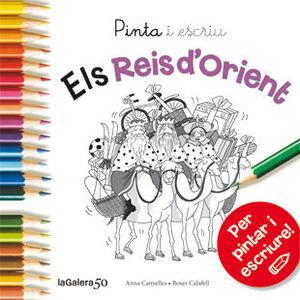 PINTA I ESCRIU ELS REIS D'ORIENT