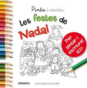 PINTA I ESCRIU LES FESTES DE NADAL