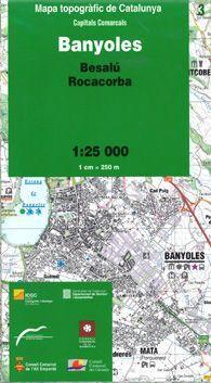 03 BANYOLES  (BESALÚ, ROCACORBA) 1:25.000