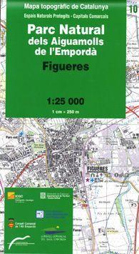 10 PARC NATURAL AIGUAMOLLS EMPORDAMAPA TOPOGRÀFIC DE CATALUNYA 1:25 000.