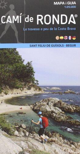 CAMI DE RONDA LINEAL 1:25.000 ST FELIU DE GUIXOLS-BEGUR