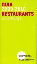 GUIA DE RESTAURANTS DE CATALUNYA 2009-2010