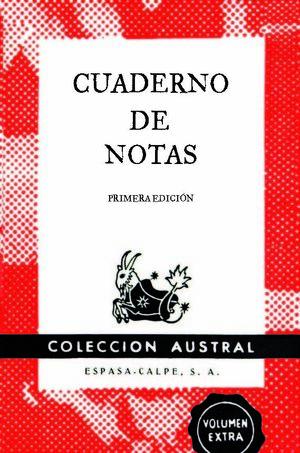CUADERNO DE NOTAS ROJO 9X14CM