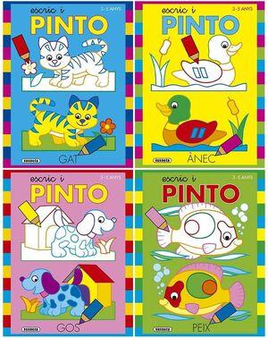 ESCRIC I PINTO 3-5 ANYS (4 TÍTOLS)