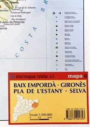 BAIX EMPORDÀ, GIRONES, PLA DE L'ESTANY, SELVA