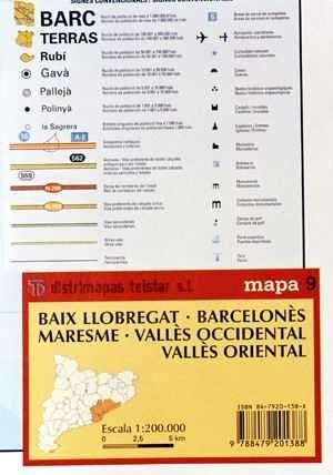 BAIX LLOBREGAT, BARCELONÈS, MARESME, VALLÈS ORIENTAL, VALLÈS