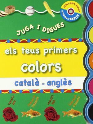 JUGA I DIGUES ELS COLORS CATALÀ - ANGLÈS