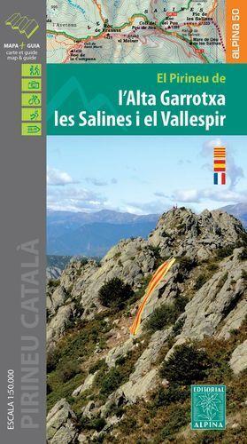 ALTA GARROTXA LES SALINES I EL VALLESPIR 1:50.000 -ALPINA