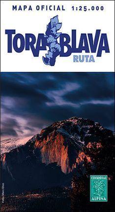 TORA BLAVA RUTA 1:25.000 -ALPINA