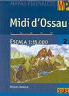 MIDI D'OSSAU MAPAS PIRENAICOS