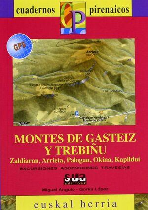 MONTES DE GASTEIZ Y TREBIÑU