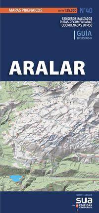 ARALAR MAPAS PIRENAICOS