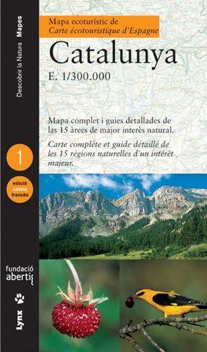 MAPA ECOTURÍSTIC DE CATALUNYA (CATALÀ/FRANCÈS)