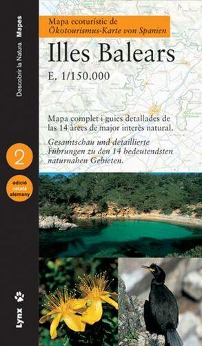 MAPA ECOTURÍSTIC DE LES ILLES BALEARS (CATALÀ/ALEMANY)