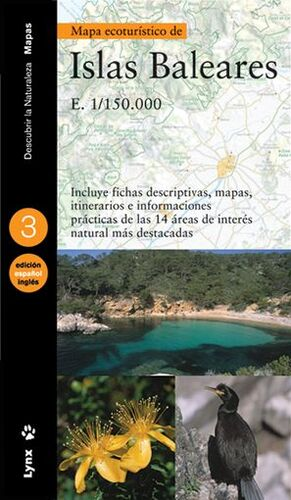 MAPA ECOTURÍSTICO DE LAS ISLAS BALEARES (CASTELLANO / INGLÉS)