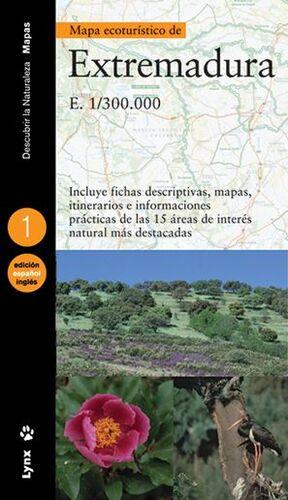 MAPA ECOTURÍSTICO DE EXTREMADURA (CASTELLANO / INGLÉS)