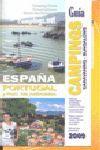 GUIA CAMPINGS ESPAÑA PORTUGAL Y PDO. ANDORRA