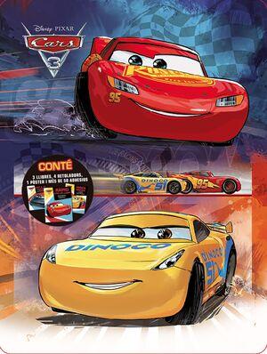 CARS 3. CAIXA METÀL·LICA