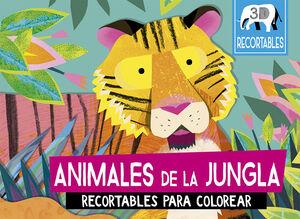 ANIMALES DE LA JUNGLA (RECORTABLES 3D)