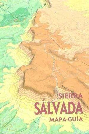SIERRA SALVADA, MAPA-GUÍA