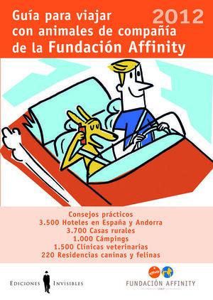 GUÍA PARA VIAJAR CON ANIMALES DE COMPAÑÍA 2012