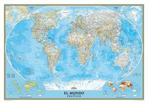 EL MUNDO CLASSIC PEQUEÑO (100X70) LAMINADO