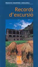 RECORDS D'EXCURSIÓ